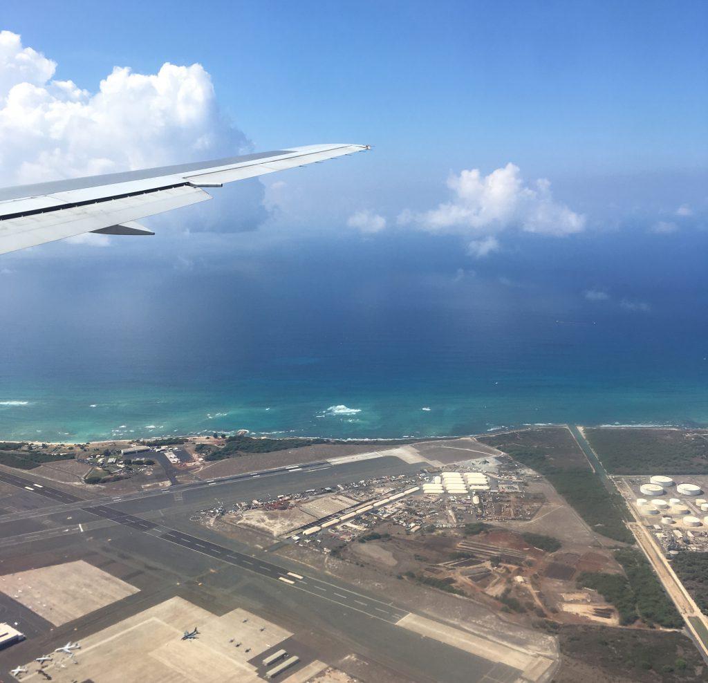 空からのハワイ
