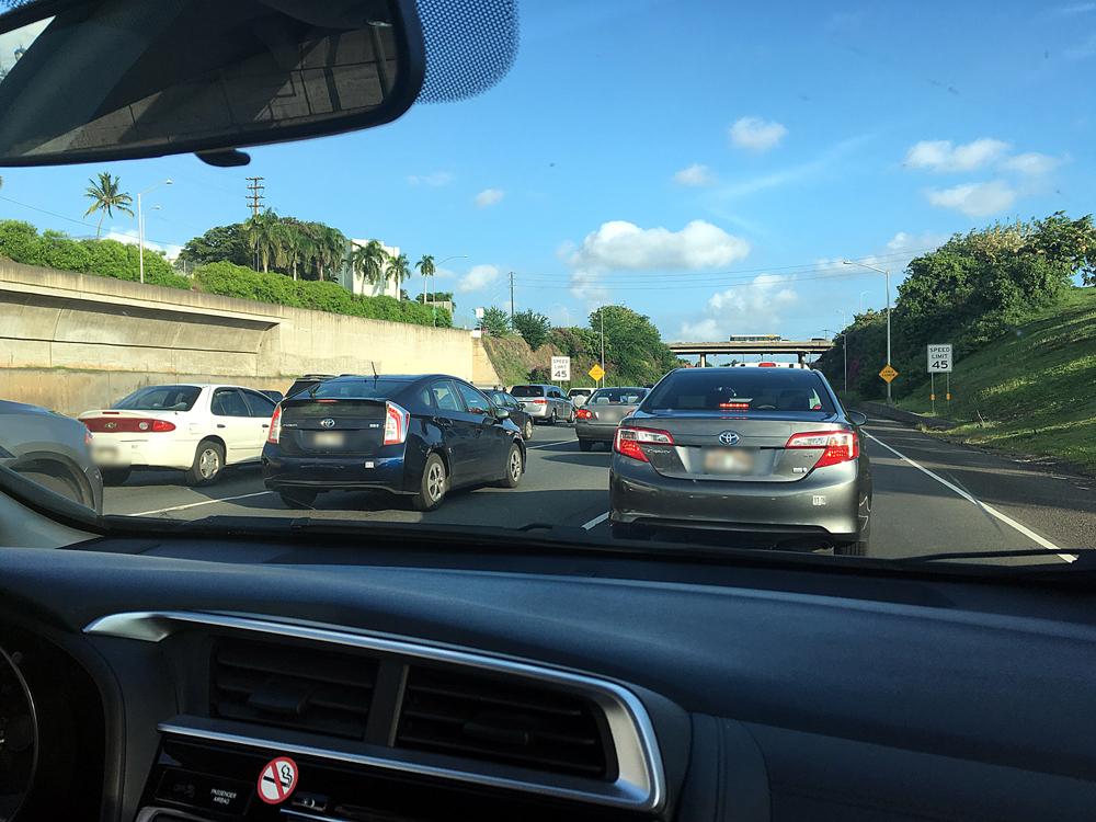 高速道路大渋滞