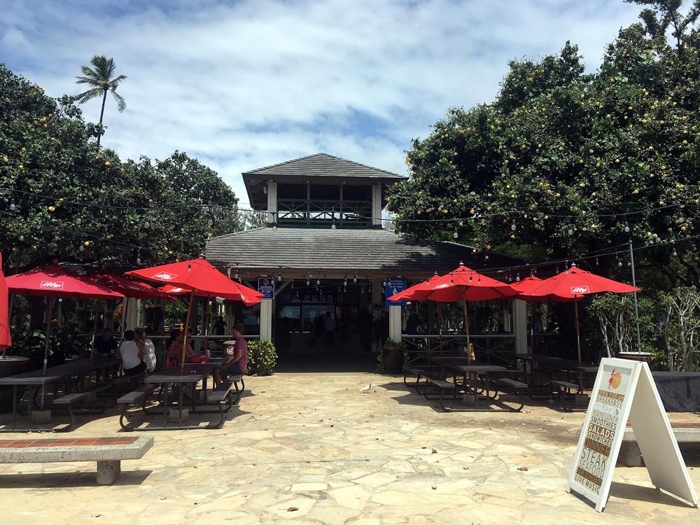 ベアフットビーチカフェ 店外観